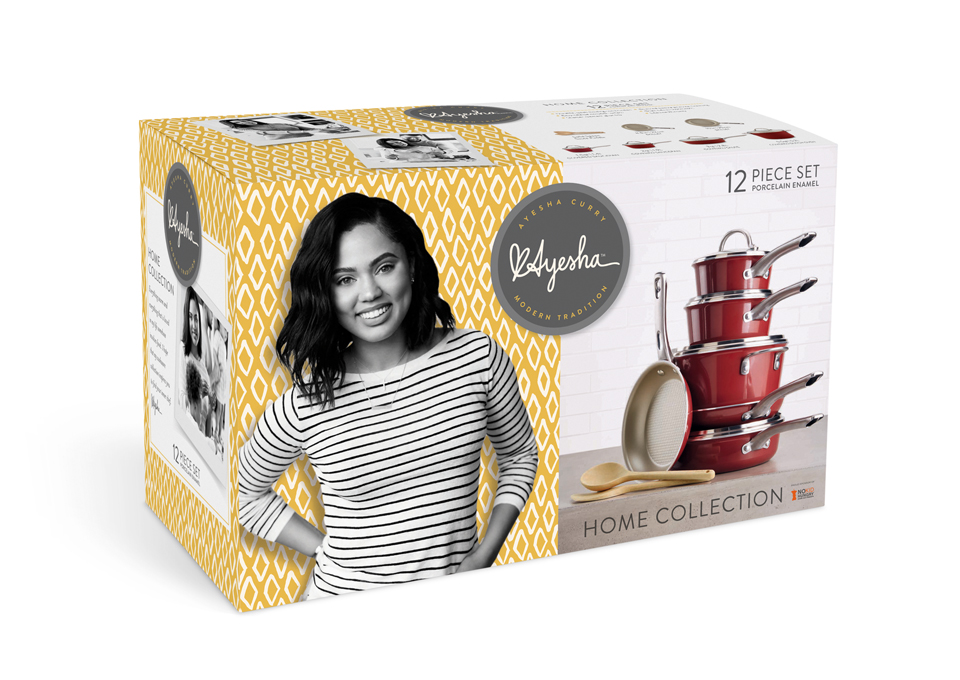 San francisco design firm ddw unveils design for new for Ayesha curry cookware