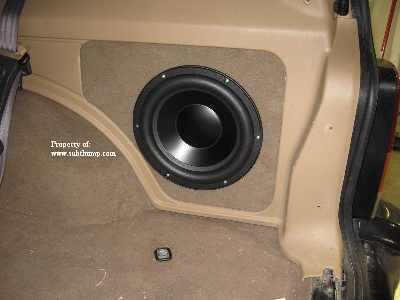 Subthump Offers Made To Detail Subwoofer Enclosures For