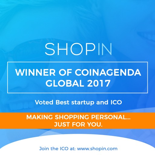 Shopin Places First in Blockchain Startup Competition - 2017 CoinAgenda Global Conference