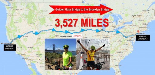 SHE DID IT! Grandma With Diabetes for 40 Years Bicycles Across America