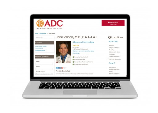 The Austin Diagnostic Clinic Begins Posting Patient Ratings and Comments of Physicians
