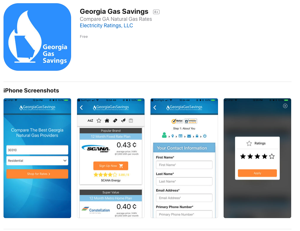 Georgia Natural Gas Reviews Atlanta