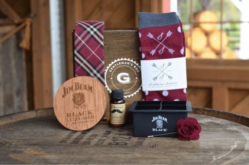 Gentleman's Box & Jim Beam Black® Embark on Year-Long Partnership, Pairing Quality Bourbon With Quality Style