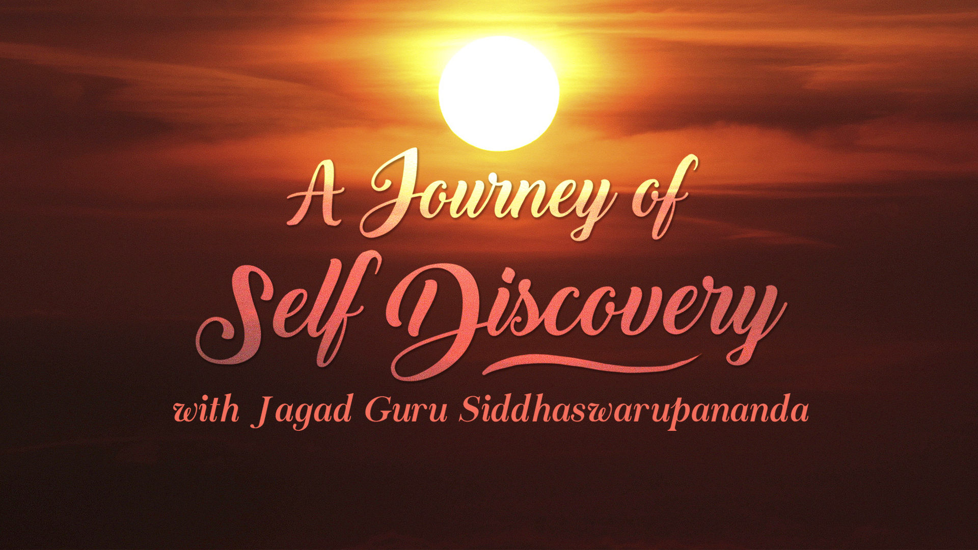 a journey for self discovery The process of self-discovery towards self-understanding is a very difficult, yet meaningful one, in which we arrive to a better understanding of ourselves.