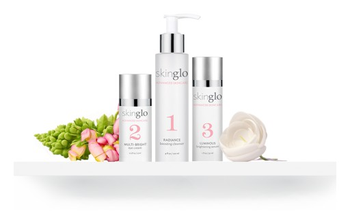 SkinGlo Launches Revolutionary New 3-Step Brightening & Firming Line - Sale