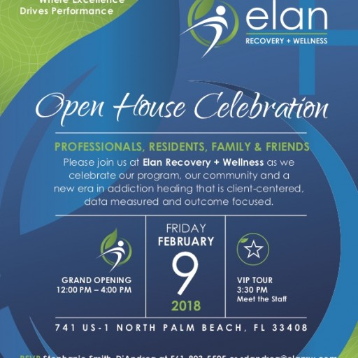 Elan Recovery + Wellness Grand Opening Event