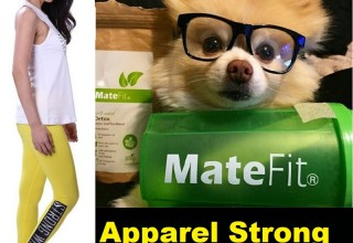MateFit Apparel Strong Will Leggings and Teatox Shaker Bottle