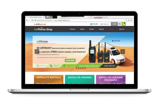 SatPhone Shop Repositions the Online Purchasing and Rentals of SatPhones With Launch of New Website