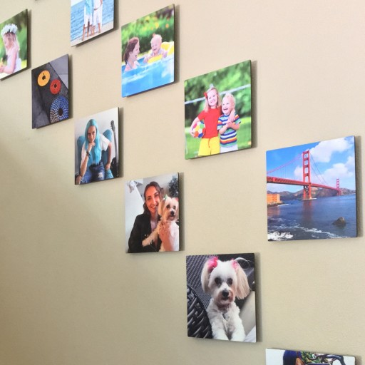 PEEL. STICK. DISPLAY. PixelPanels Creates Sturdy & High-Quality, FLOATING 8X8 Photo Wall Art With RE-MOUNTABLE Adhesive & ZERO WALL DAMAGE