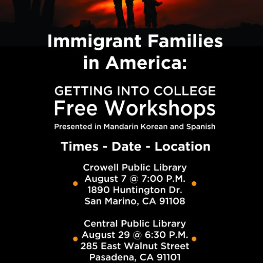FLEX College Prep Offers Immigrant Parents of College-Bound Students Free College Preparation Workshop Series