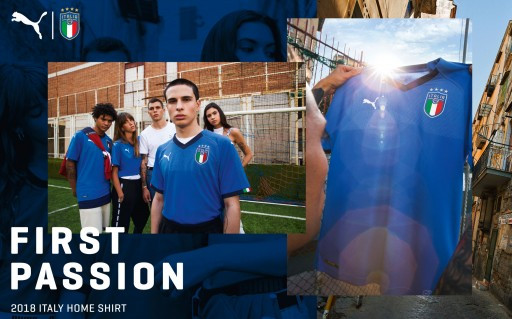 Soccer and Rugby Imports Recently Adds New Italy Puma Jerseys to Inventory