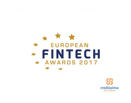 Credissimo - Contender for European FinTech Awards 2017's Title of 'European Innovator 2017'