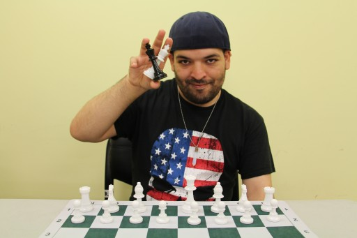 Special Citizens Alum Takes on Grandmasters in Chess Simul Series