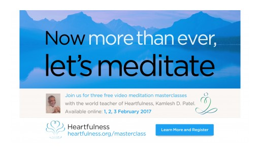 Now… More Than Ever… Let's Meditate