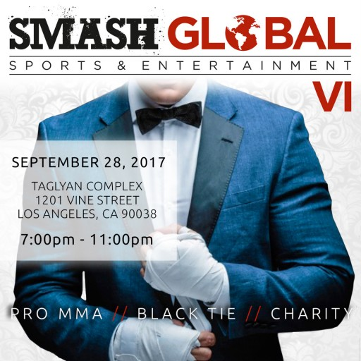 SMASH Global Announces 6th Black Tie MMA Fight Gala Honoring Chuck Liddell