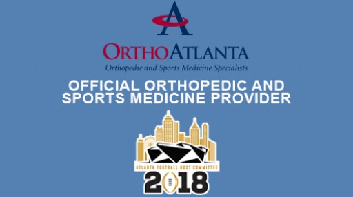 OrthoAtlanta is Official Orthopedic and Sports Medicine Provider to Atlanta Football Host Committee for 2018 College Football Playoff National Championship