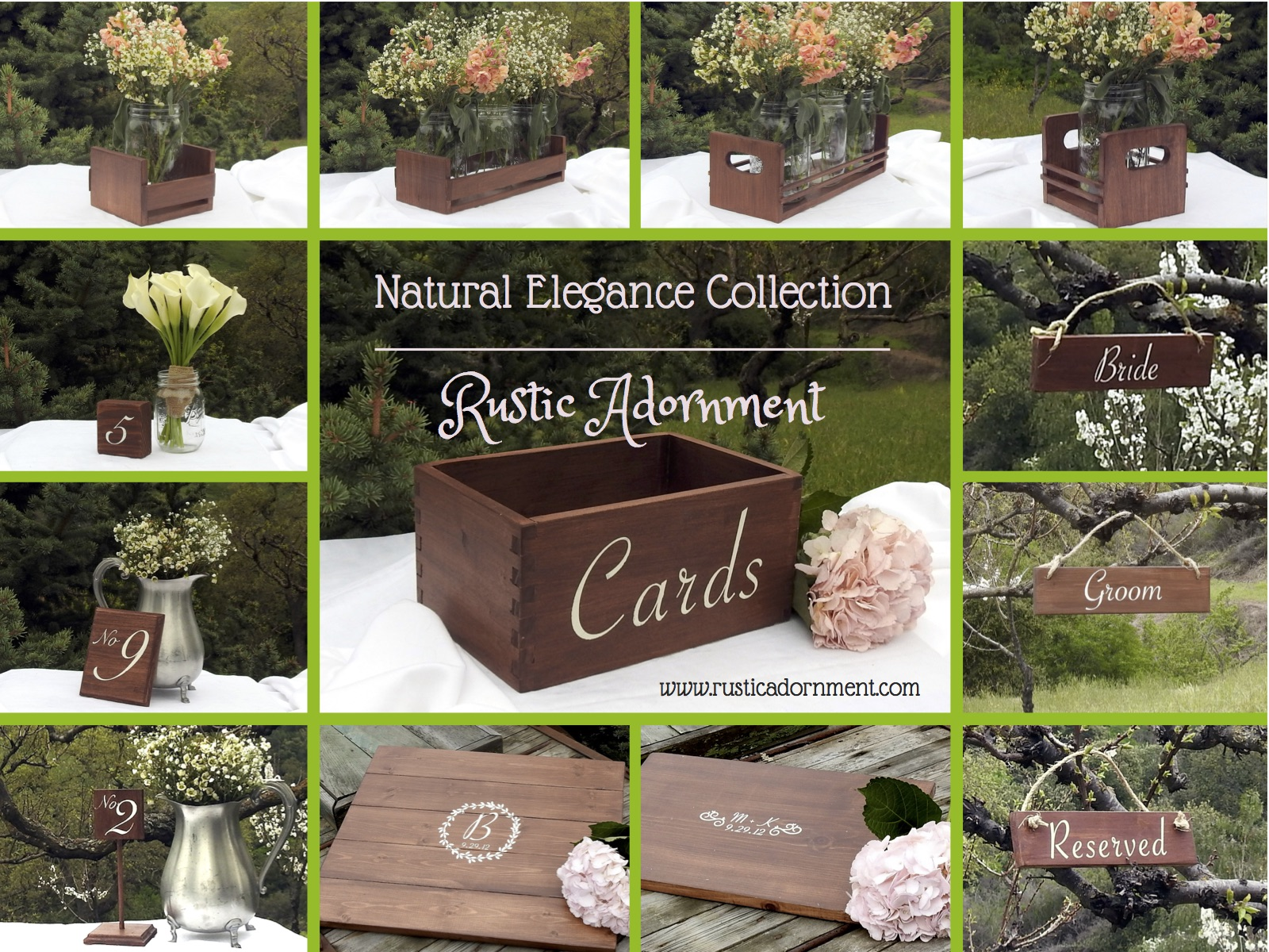 Wedding Ideas For Summer: Rustic Adornment Releases Summer Line Of Wedding Decor