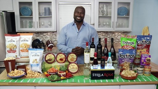 Former All-Pro NFL Fullback Ovie Mughelli Gives Tips on Big Game Party Fun on Tips on TV Blog
