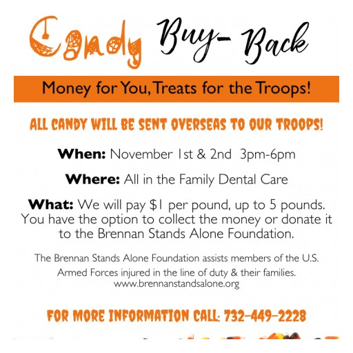 Candy Buy-Back to Support Our Troops