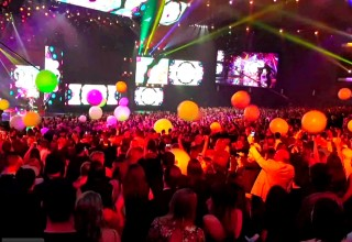 Coldplay Lights Up Everyone with Glowballs at Live Performances