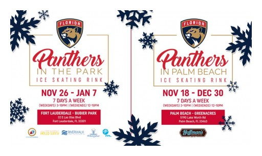 Panthers Announce Two Outdoor Ice Skating Rinks for Holiday Season