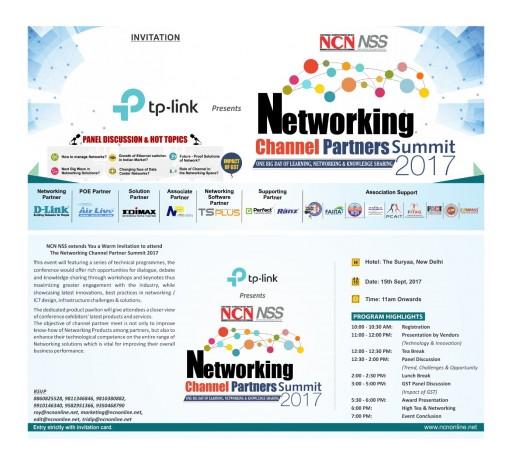 Announcing TSplus India's Participation in NCN/NSS Networking Channel Partners Summit 2017