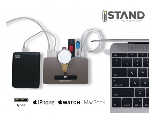 iStand Smart HUB Is True Vogue Technology at Its Best