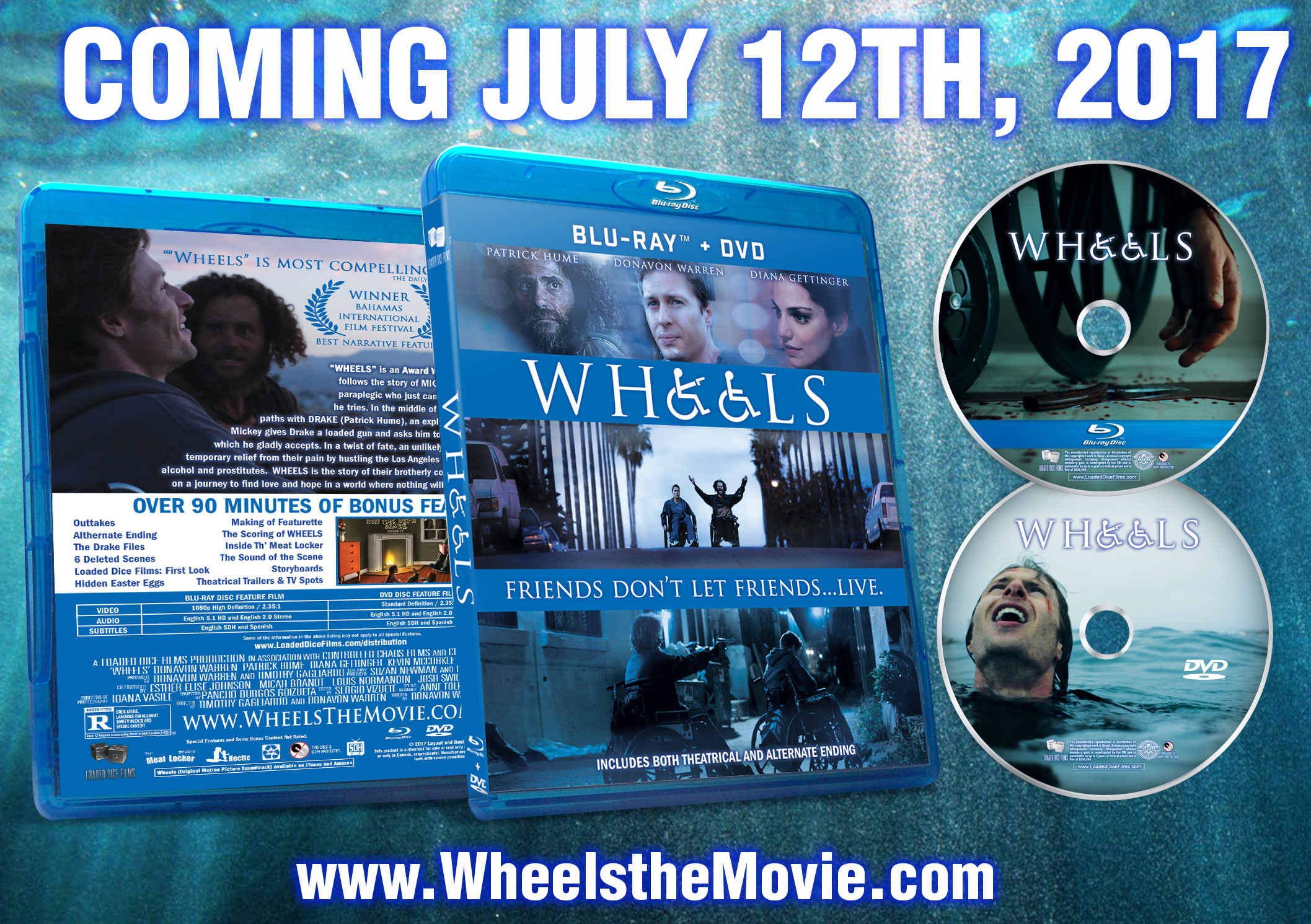New Cult Classic Movie \u0027WHEELS\u0027 to Be Released as Blu-Ray + DVD ...