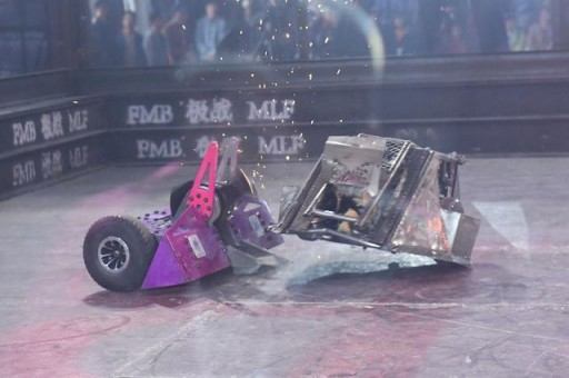 FMB Combat Robot World Cup Competition in China is a Smashing Success