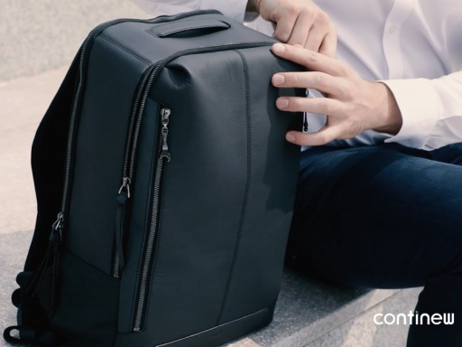 Continew Labs Unveils High-Quality Backpacks Made From Cars, Now Available on Kickstarter