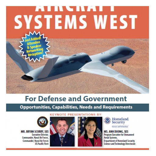 "Technology Training Corporation (TTC) Announces 'Unmanned Aircraft Systems West"" for Defense and Government, February 12-13, 2018"