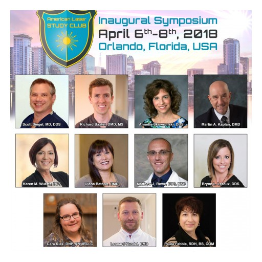 Announcing Laser Frenectomy Session Speakers - ALSC Inaugural Symposium, April 6-8 in Orlando