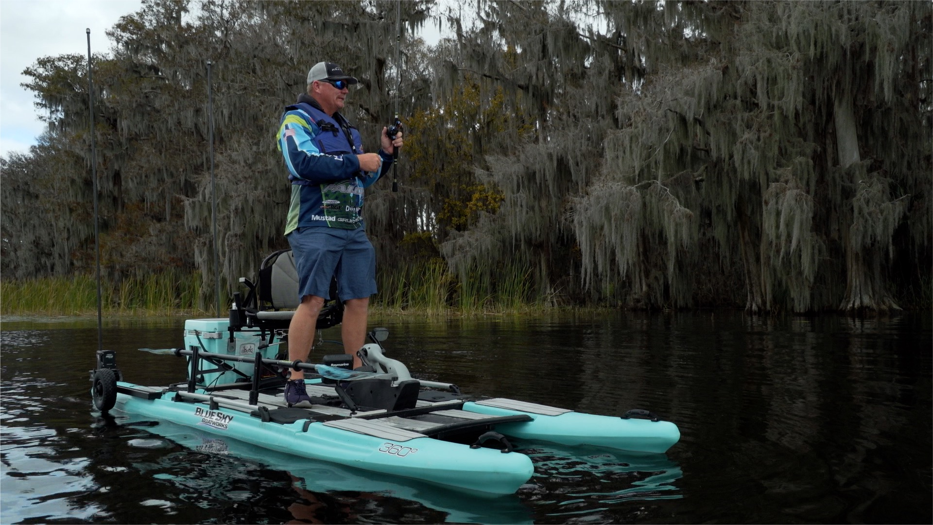 New brand from jackson kayak readies for launch with for Fishing jackson kayak