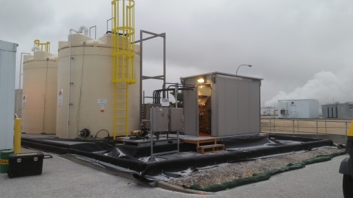 Enviro Tech Chemical Services Inc. Completes Installation of Largest Peracetic Acid Delivery and Dosing System in US