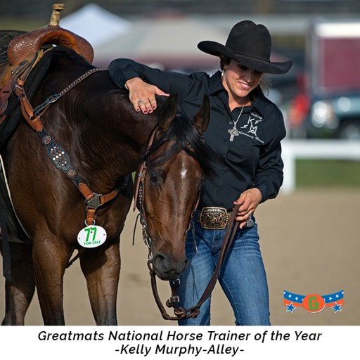 Kelly Murphy-Alley Named Greatmats Horse Trainer of the Year
