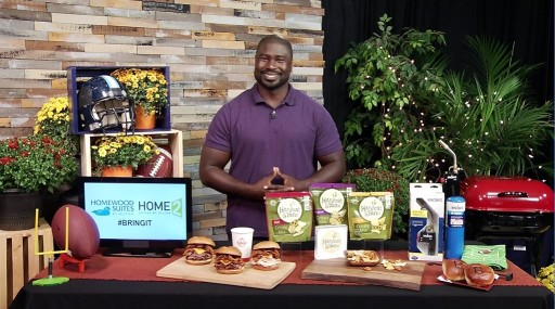 Tailgating Inspirations With Former All-Pro NFL Fullback Ovie Mughelli on Tips on TV Blog