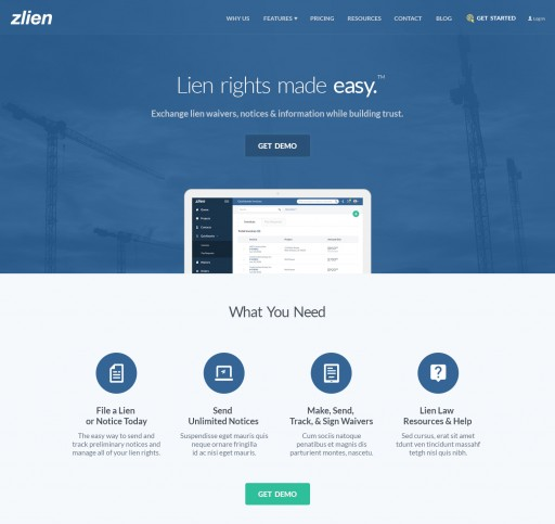 zlien Applauds Ohio Regulators' Decision to Allow the Construction Industry Use of Technology to Make the Mechanics Lien Process Easier and More Accessible