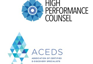 High Performance Counsel and ACEDS in Legal Media Partnership