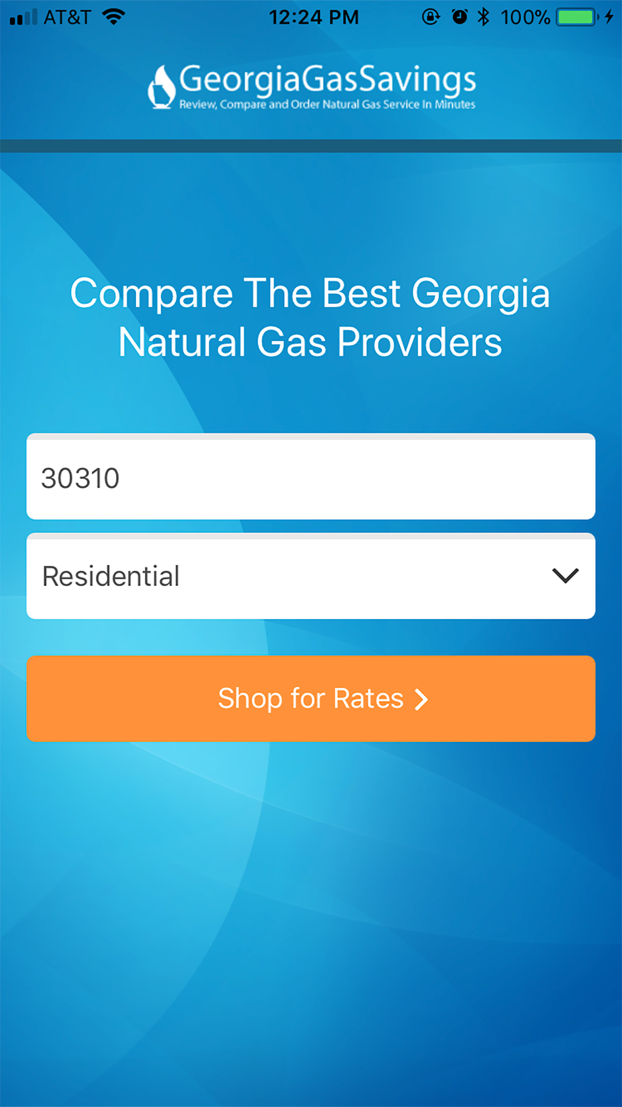 Natural Gas Providers In Atlanta Compare