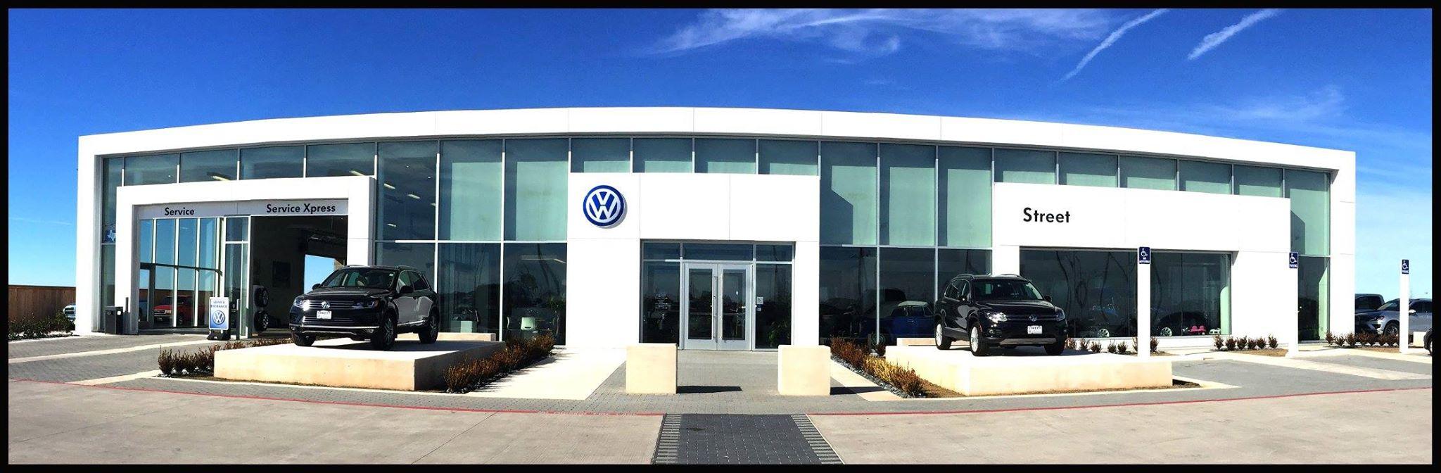 Street Volkswagen of Amarillo Wins Prestigious 2015 Wolfsburg Crest Club Award, Celebrates With ...