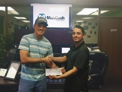 Thomas Browning Wins Max Cash Title Loans 1st Scholarship, 2nd Scholarship Still Available and Ongoing.