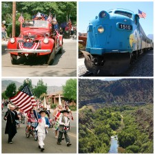 Old Fashioned Fourth of July in Small Town Arizona