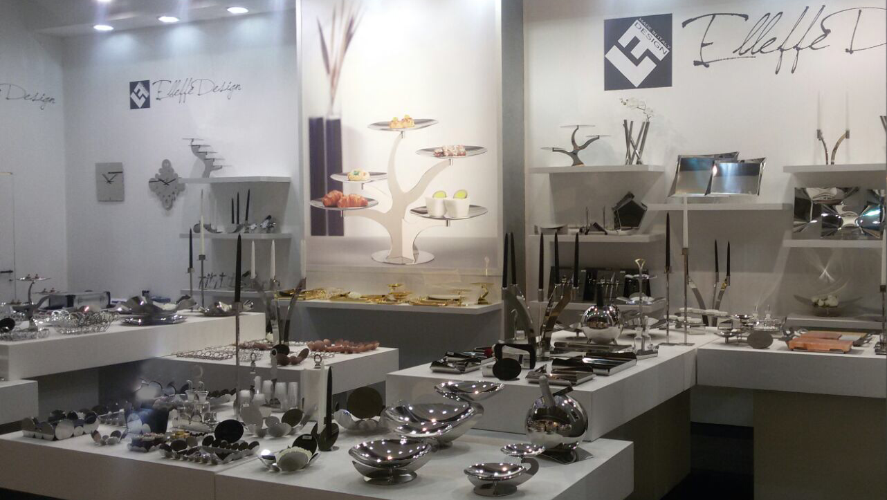 Superieur Modern Italian Stainless Steel Home Decor And Serveware At Las Vegas Market Trade  Show Expo