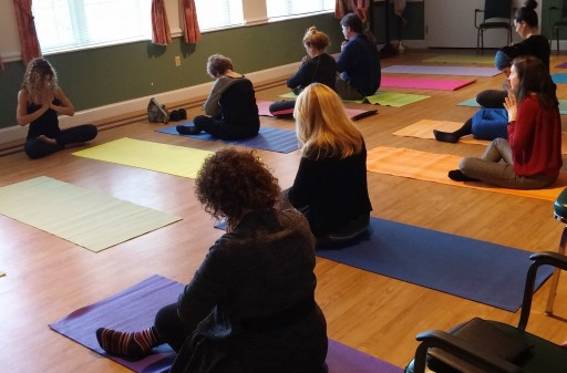 Healthcare Professionals Learn Benefits of Yoga for Seniors at Lester Senior Housing Community