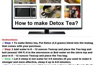 How to make Detox tea?