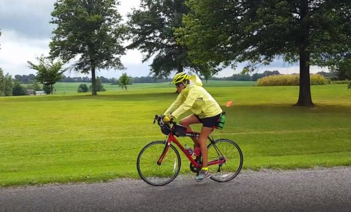 Inspiring Children With Diabetes: A Grandma Bicycles Across America