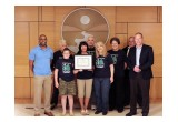 Scientology Environmental Task Force is presented a special award at the UN World Environment Forum