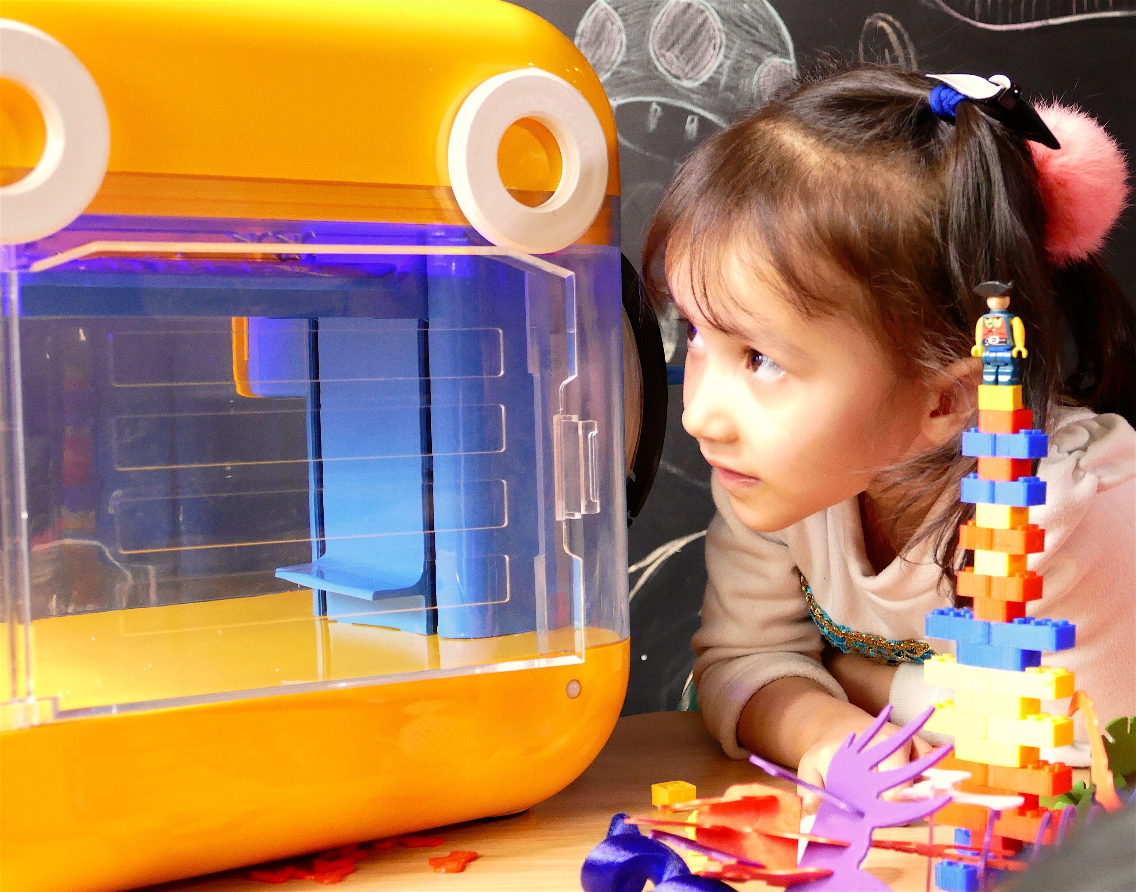Award Winning 3D Printer for Kids ing Soon to Kickstarter