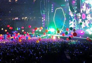 Coldplay Energizes Everyone on A Head Full of Dreams Tour