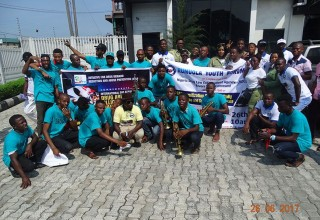 Initiative for Drug Demand Reduction and Abuse Prevention volunteers